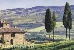 Тоскана на английском